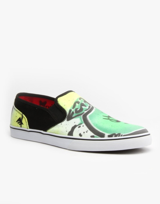 Emerica x Mouse Provost Cruiser Slip UK Exclusive Skate Shoe -  Swag