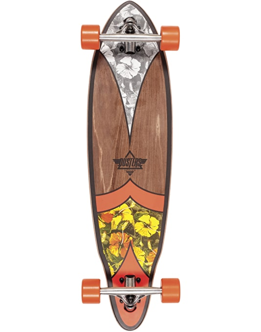 "Dusters x Kryptonics Fin Limited Edition Cruiser - 8.5"" x 33"""