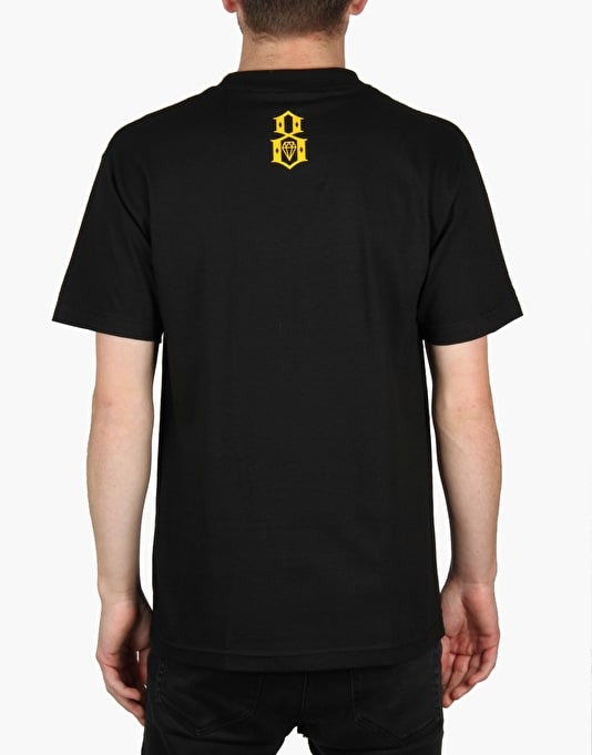 Rebel8 Ghetto Pass T-Shirt - Black