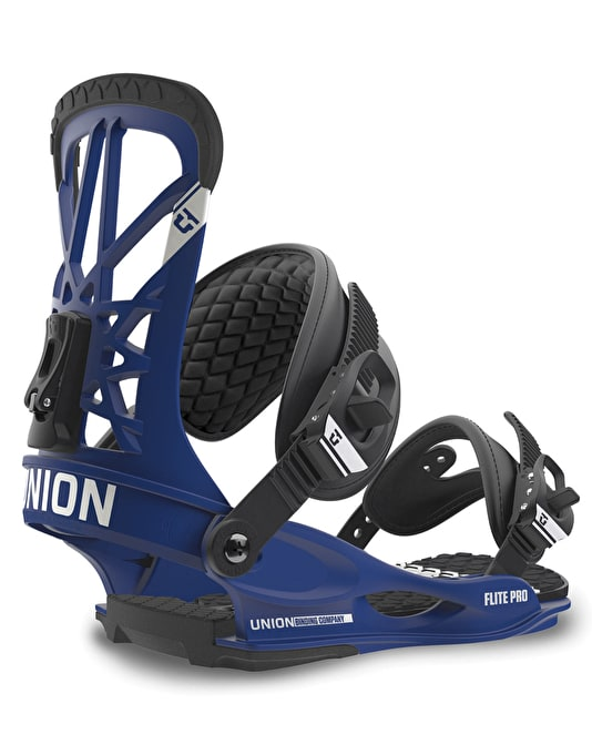 Union Flite Pro 2016 Snowboard Bindings - Blue