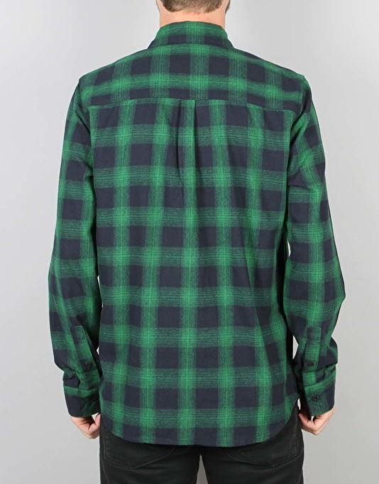 Emerica Strummer Flannel L/S Shirt - Green