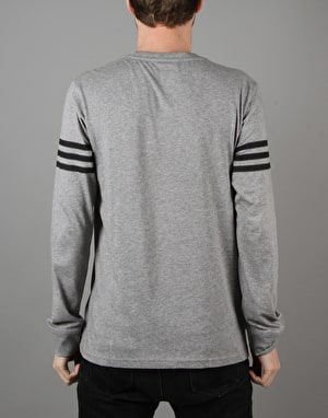 Adidas Clima L/S T-Shirt - Core Heather