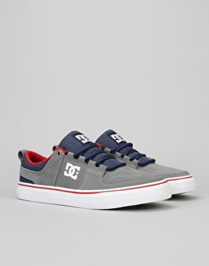 DC Lynx Vulc Skate Shoes - Grey/Dark Navy