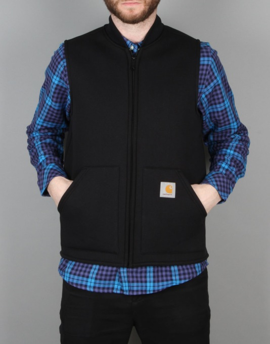 Carhartt Car-Lux Thermo Gilet - Black/Grey