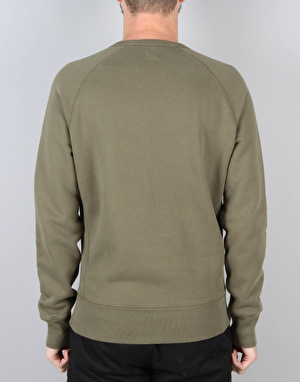 Levi's Skateboarding Crewneck Fleece - Ivy Green
