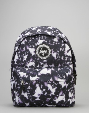 Hype Monotone Backpack - Black/White