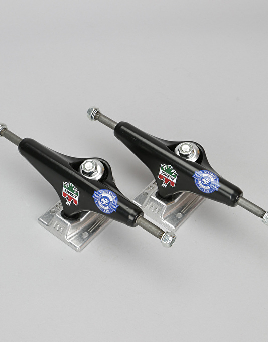 Royal Alvarez 5.25 Standard Pro Trucks - Black/Raw (Pair)