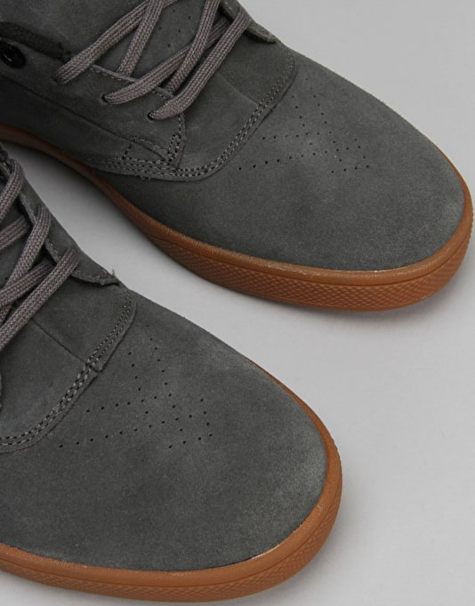 Globe The Eagle (David Gonzalez) Skate Shoes - Charcoal/Gum