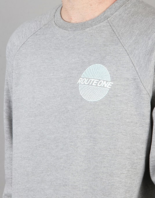 Route One Trippin' Sweatshirt - Grey