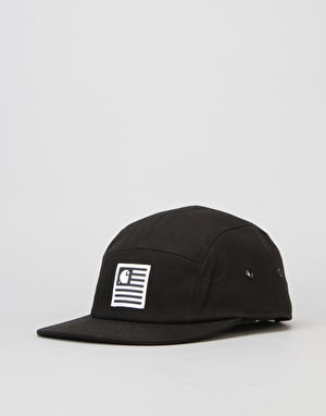 Carhartt State 5 Panel Cap - Black/White