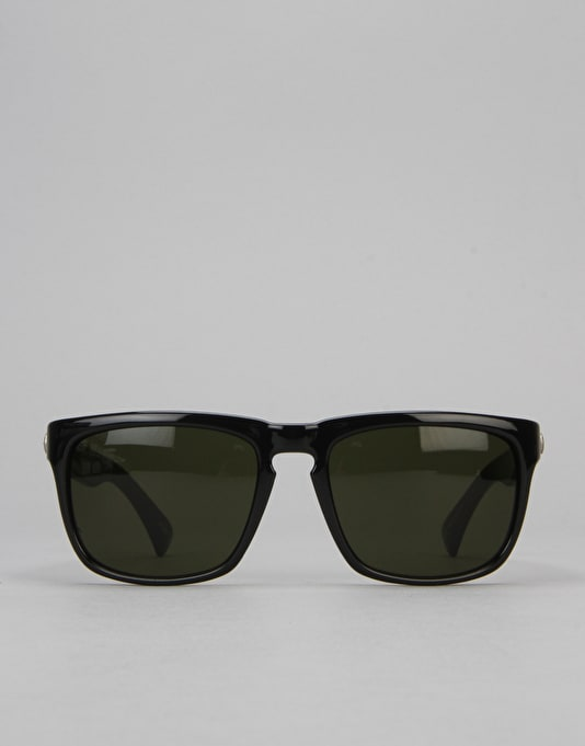 Electric Knoxville Sunglasses - Gloss Black/Medium Grey
