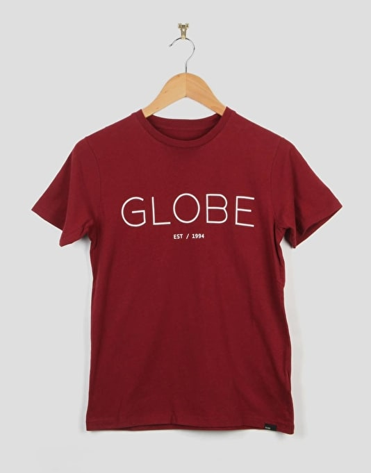 Globe Phase Boys T-Shirt - Cardinal