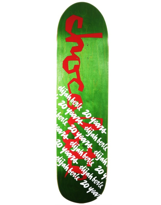 Chocolate Tershy 20 Year Select Series Pro Deck - 8.5""