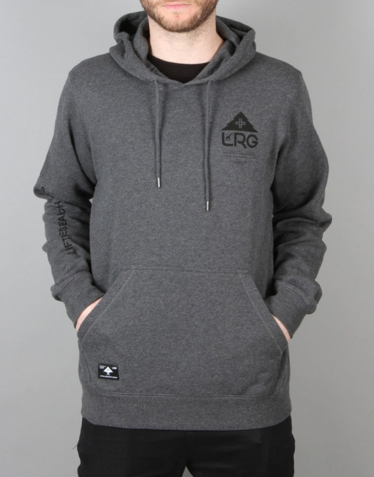 LRG One Icon Pullover Hoodie - Charcoal Heather