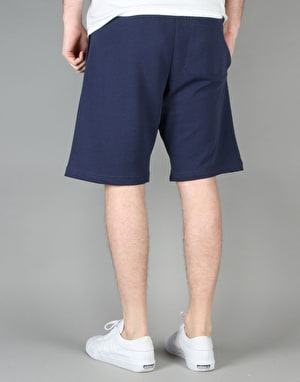Carhartt College Sweat Shorts - Blue/White