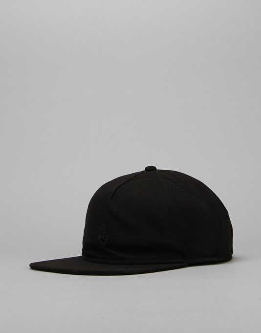 Route One Centaur 'Blackout' Unstructured Cap - Black