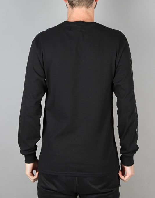 Route One Signature LS T-Shirt - Black