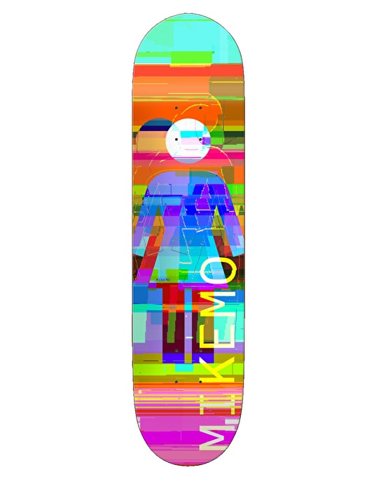 Girl Mike Mo Glitch Mode Skateboard Deck - 7.75""