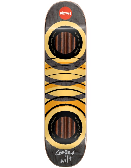 Almost Cooper Royal Rings Impact Support Skateboard Deck - 8.25""