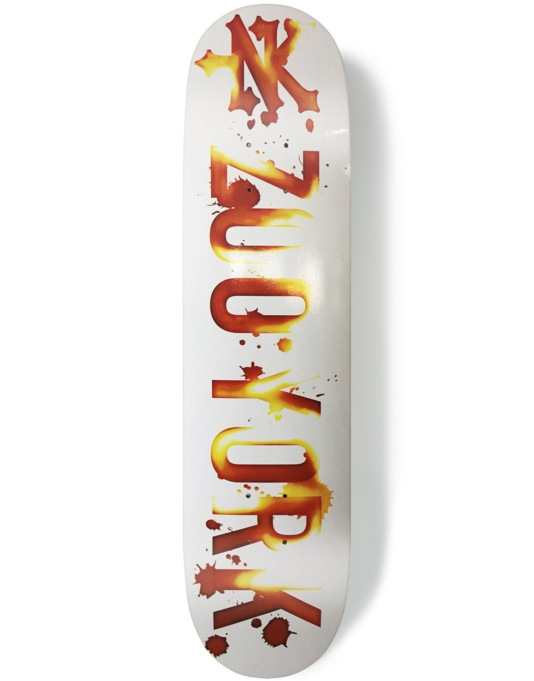 Zoo York Photo Incentive Stain Team Deck - 8""