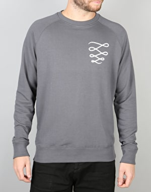 Descent OG Custom Crew Sweatshirt - Charcoal