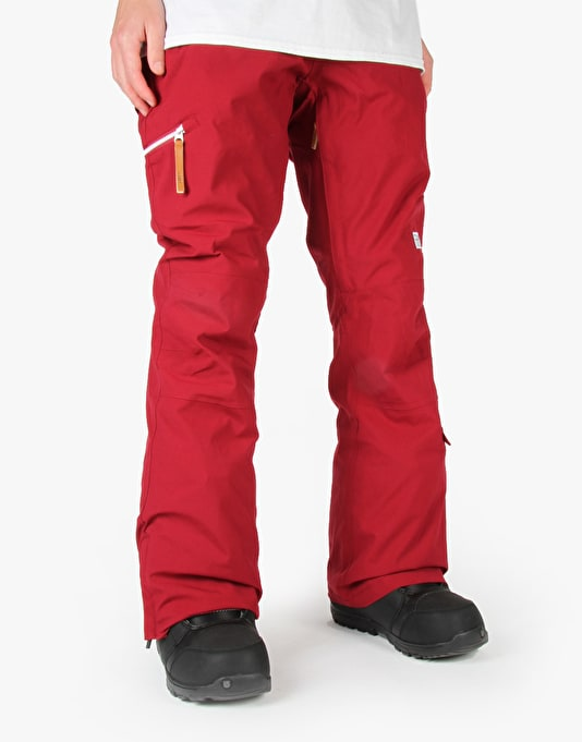 Colour Wear Sharp 2016 Snowboard Pants - Burgundy