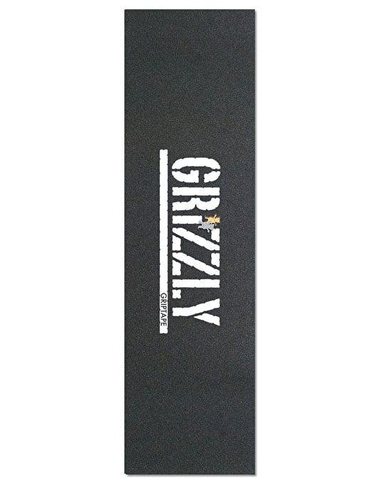 "Grizzly Stamp Die Cut Bear 9"" Grip Tape Sheet"