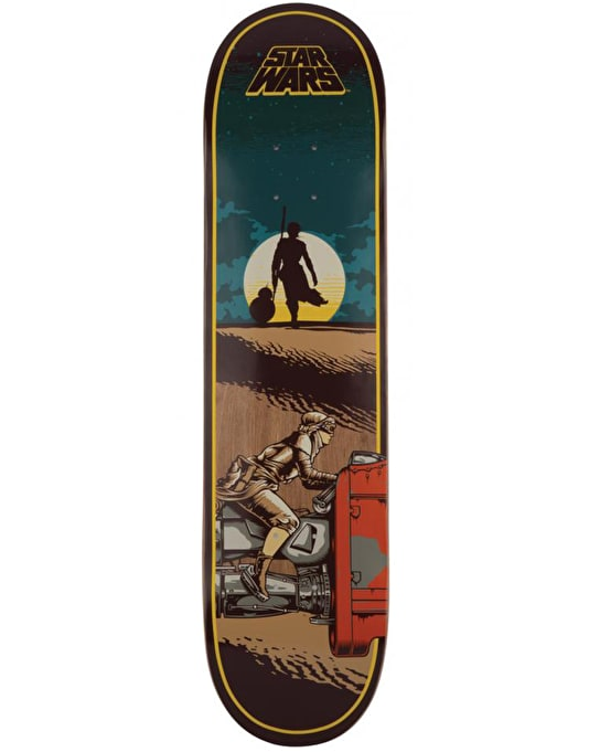 Santa Cruz x Star Wars Episode VII Rey Skateboard Deck - 7.8""