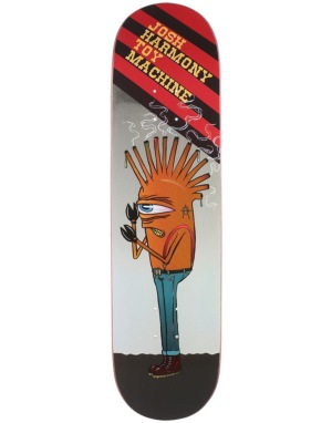 Toy Machine Harmony Punked Pro Deck - 8.375