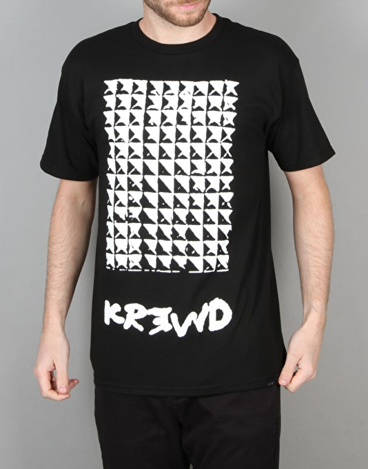 Kr3w x Fergus Purcell Studs T-Shirt - Black