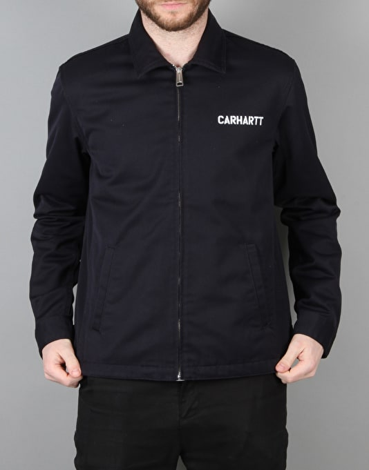 Carhartt Modular Jacket - Dark Navy/White Rinsed