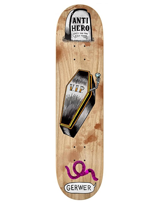 Anti Hero Gerwer French Fried Eyeballs Pro Deck - 8.12""