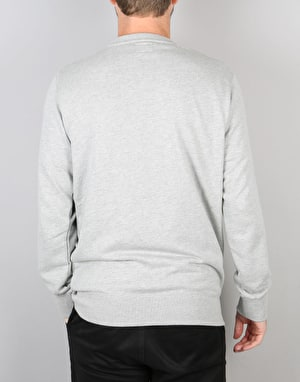 Obey North Point Crew - Heather Grey
