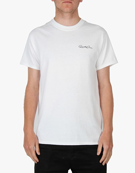 Route One Plank T-Shirt - White