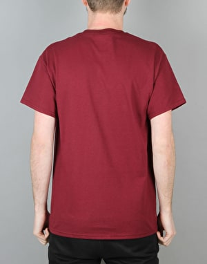 Lovenskate Car Park Training T-Shirt - Maroon