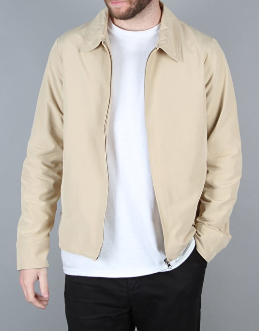 Route One Richmond Harrington Jacket - Khaki