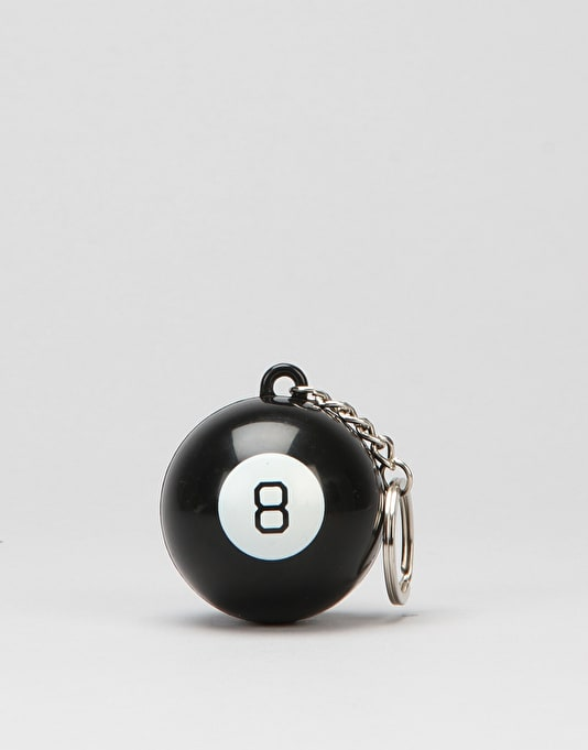 HUF 8 Ball Key Chain - Black