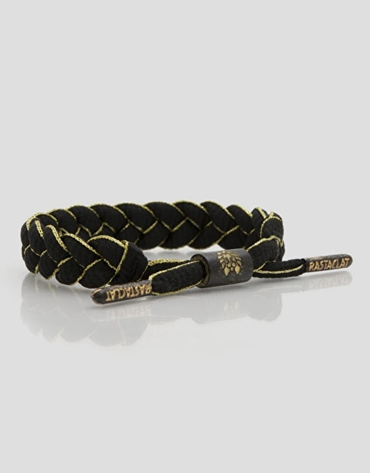 Rastaclat AU79 Wristband - Black/Gold