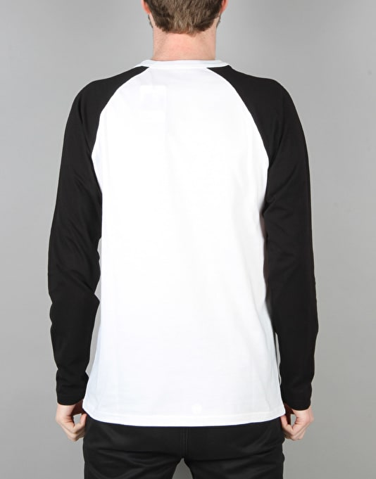 Carhartt League L/S T-Shirt - White/Black
