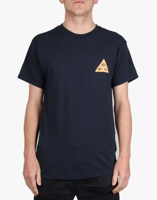 Welcome Talisman T-Shirt - Navy/Peach
