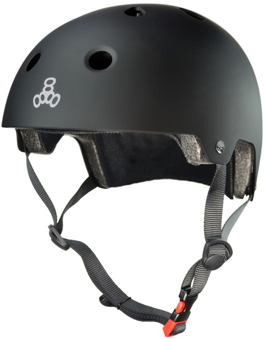 Triple 8 Brainsaver EPS Helmet - Black Rubber
