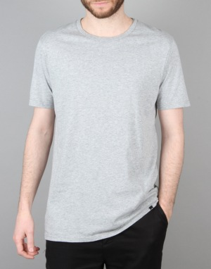 Globe 2 Pack T-Shirt - Grey Marle