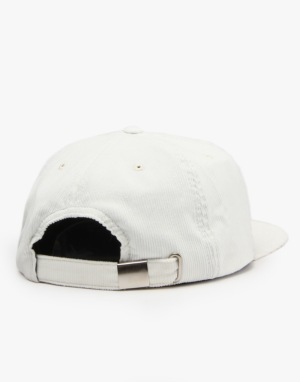 The National Skateboard Co. Anti Fit 6-Panel Cap - White