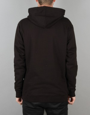 Route One College Logo Pullover Hoodie - Black