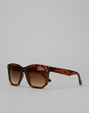Route One Basics Squared Farer Sunglasses - Tortoise