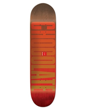 Chocolate Tershy League Fade Pro Deck - 8.25