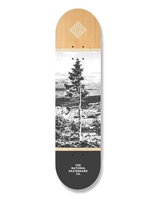 The National Skateboard Co. Delarna Team Deck - 7.875""