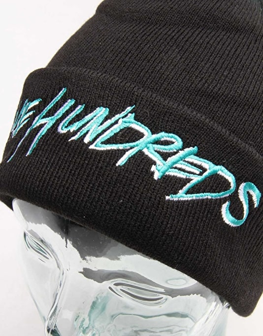 The Hundreds Blot Bobble Beanie - Black