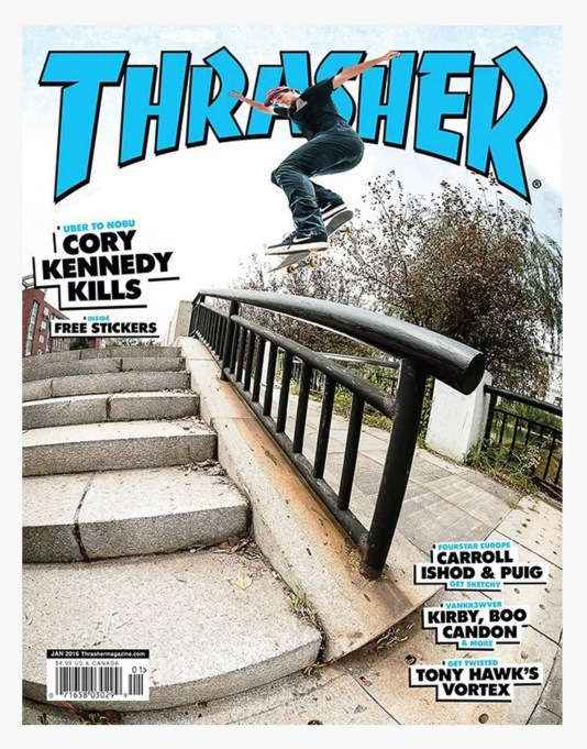 Thrasher Magazine Issue 426 January 2016
