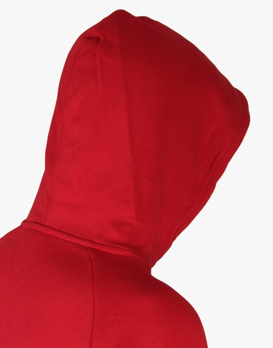 Nike SB Icon Griptape Pullover Hoodie - Gym Red/White